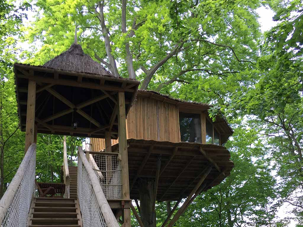 TREE HOUSE NID DE LA CHOUETTE