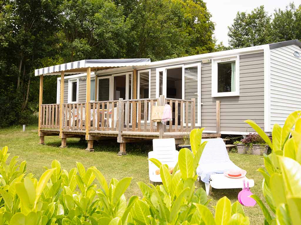 MOBIL HOME 6 personnes camping somme